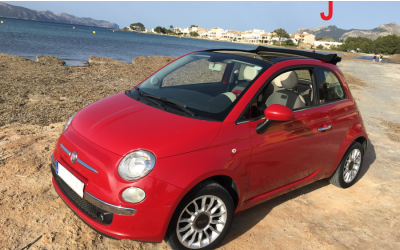 Autos Fabiola Rent a Car - Fiat 500 convertible