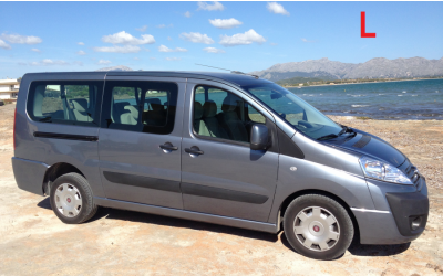 Autos Fabiola Rent a Car - Fiat Scudo or similar (9 seats)